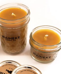 Pure Beeswax Candle in a jar